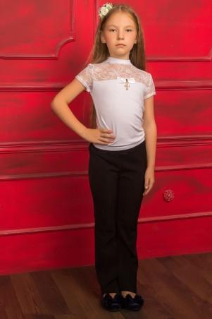 Tashkan: Блуза Лицей-гипюр 1183 - главное фото