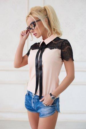 Lux Look. Рубашка. Артикул: с кружевом 609