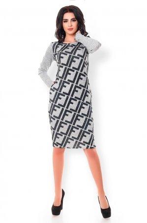 Velurs. Стильное платье из нежной Ангоры. Артикул: 1132