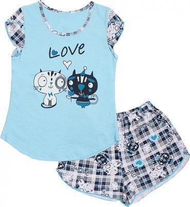 Valeri-Tex. Пижама для девочек. Артикул: 0028-55-021-008