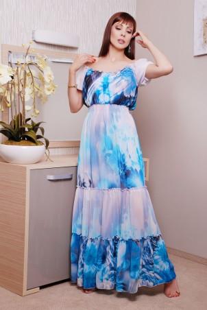 GHAZEL: Платье Водопад 10303 - главное фото