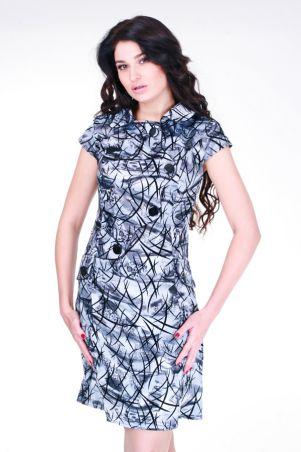 GHAZEL: Платье Астра флок 10244 - главное фото