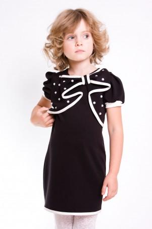 """Sofia Shelest: Детское платье """"Кира"""" черное О201410 - главное фото"""