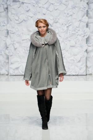 Bazhani: Пальто Пончо - главное фото