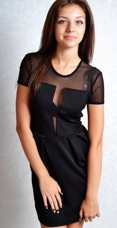 TessDress: Стильное женское платье с сеткой «Милан» 1015 - главное фото