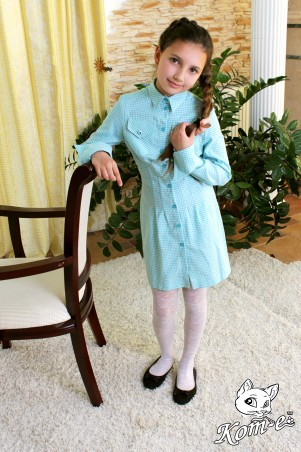 Kot-e: Платье-рубашка 7098-1 - главное фото
