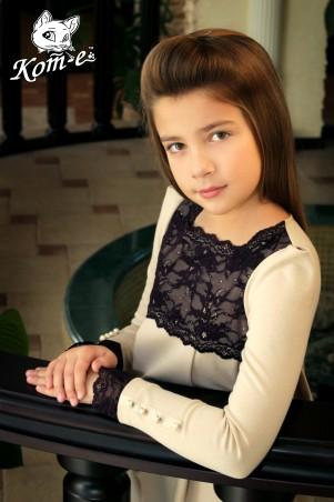 Kot-e: Платье с кружевом 7086 - главное фото