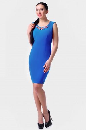 GHAZEL: Платье Эльвира Камни 00443 - главное фото