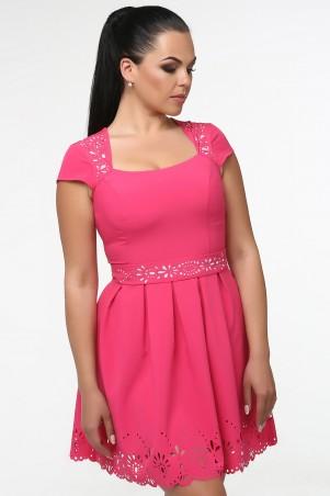 GHAZEL: Платье Перфорация 11017 - главное фото