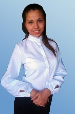 Kot-e: Блуза для девочки(д/р) 7107 - главное фото