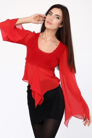 GHAZEL: Блуза Лебедь 11065 - главное фото