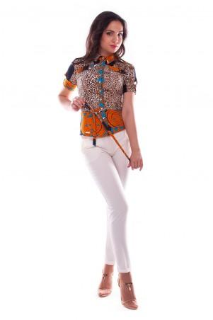 Modus: Блуза «Пэнни Короткий Рукав Dg» 922 - главное фото