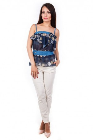 Modus: Блуза-Топ «Мидина» 1107 - главное фото