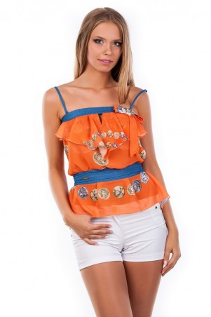 Modus: Блуза-Топ «Мидина» 1108 - главное фото