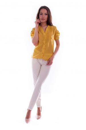 Modus: Блуза «Кумир Шелк Принт К/р» 3468 - главное фото
