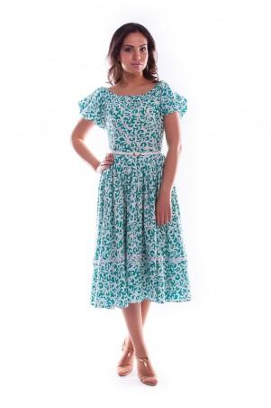 Modus: Платье «Даша Миди Штапель Принт» 3756 - главное фото