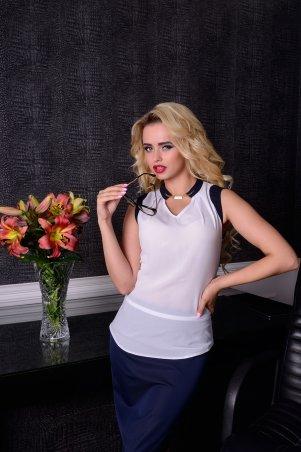 Modus: Блуза «Кая Креп Шифон Комби « 3787 - главное фото