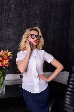 Modus: Блуза «Афина К/р Креп Шифон» 3843 - главное фото