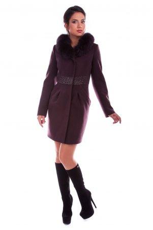 Modus: Пальто «Сана Зима Песец» 3996 - главное фото