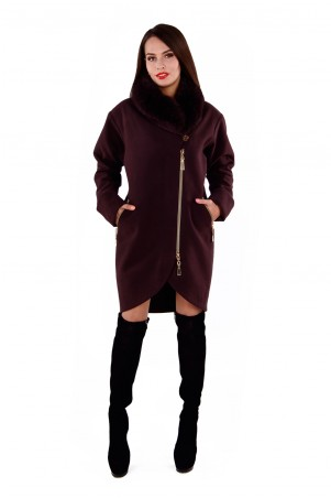Modus: Пальто «Бьорк Зима Песец Лайт» 4310 - главное фото