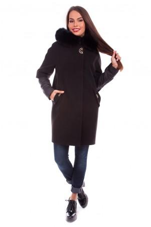 Modus: Пальто «Твикс Зима Песец» 4313 - главное фото