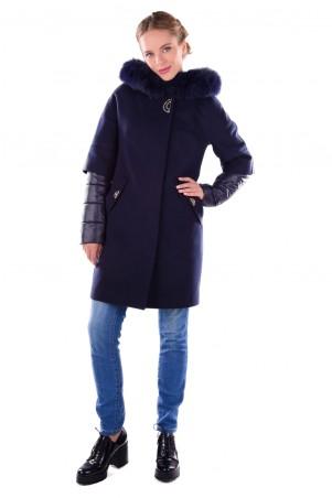 Modus: Пальто «Твикс Зима Песец» 4314 - главное фото