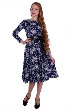 Modus: Платье «Карен Лайт Принт Франц Люрекс» 5779 - главное фото