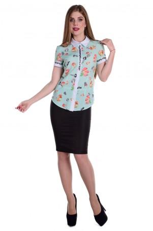 Modus: Блуза «Даллас К/р Вискоза Принт» 6027 - главное фото