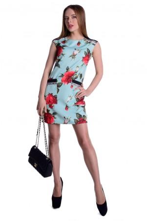Modus: Платье «Виларго Принт Костюмная Ткань» 5937 - главное фото