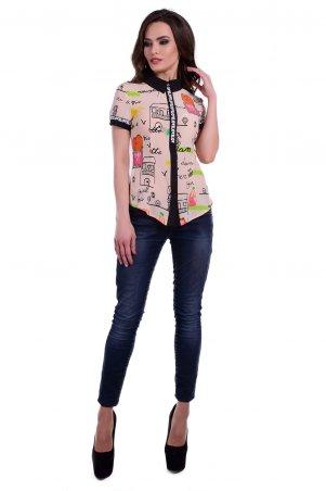 Modus: Блуза «Даллас К/р Вискоза Принт» 6030 - главное фото