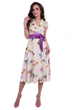Modus: Платье «Арника Принт Атлас Шифон» 6108 - главное фото