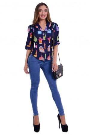 Modus: Блуза «Этель Вискоза Принт» 5931 - главное фото
