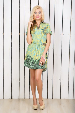"""Me&Me: Платье-рубашка """"Этно"""" 7122 - главное фото"""
