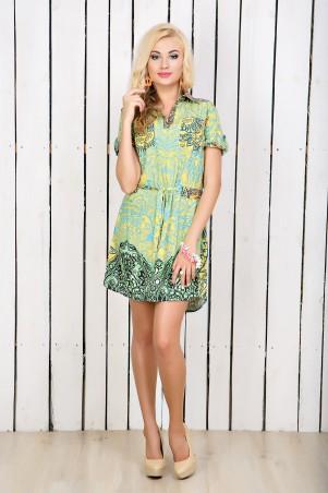 """InRed: Платье-рубашка """"Этно"""" 7122 - главное фото"""