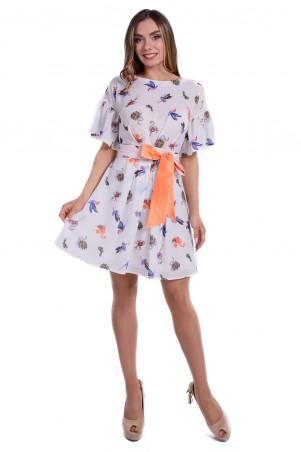 Modus: Платье «Барберри Шифон Принт Стрейч» 6189 - главное фото