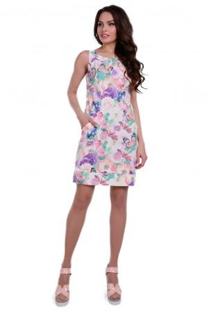 Modus: Платье «Маргарита Коттон Стрейч Принт» 6355 - главное фото