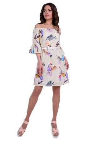 Modus: Платье «Франсуаза Принт Креп Шифон» 6336 - главное фото