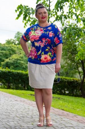 GHAZEL: Блуза Розалина 11213 - главное фото