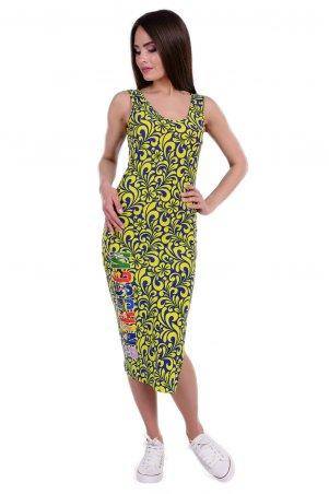 Modus: Платье «Фарина Принт Масло» 6482 - главное фото