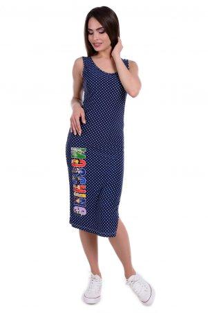Modus: Платье «Фарина Принт Масло» 6484 - главное фото