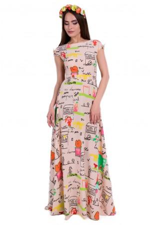 Modus: Платье «Жадор Принт Вискоза» 6395 - главное фото