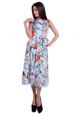 Modus: Платье «Рубина Лайт Принт Атлас Шифон» 6462 - главное фото
