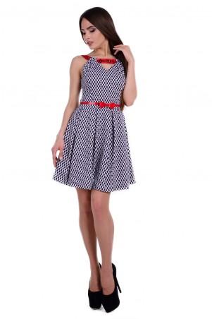 Modus: Платье «Джина Принт Бенгалин Плотный» 6465 - главное фото