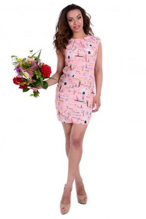 Modus: Платье «Сансет Принт Креп Шифон» 6616 - главное фото