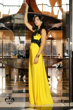 Luzana: Платье Кассандра -желтый - главное фото