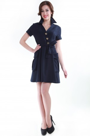 Alpama: Платье синее SO-13055-BLU SO-13055-BLU - главное фото