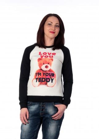 Irvik Trend: Женский свитшот реглан  TEDDY 116 - главное фото