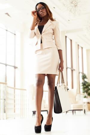 Jadone Fashion: Костюм пиджак-юбка Ясмин_1 М-3 - главное фото