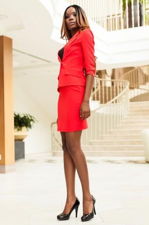 Jadone Fashion: Костюм пиджак-юбка Ясмин_1 М-2 - главное фото