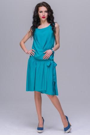 Jet: Платье ДЕЙЗИ штапель изумруд 1083-5451 - главное фото